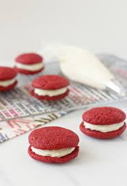 red velvet sandwich cookies cook nourish bliss