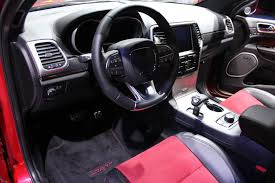 Jeep Grand Cherokee Srt Interior Image 2015 Jeep Grand Cherokee Srt Red Vapor Limited Edition