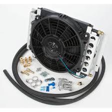 oil cooler fan kit derale oil cooler ebay