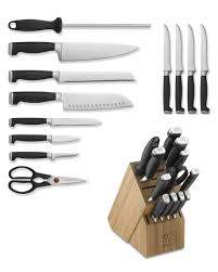 kitchen knives henckel zwilling j a henckels four ii 13 knife block set