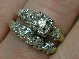 Vintage Wedding Ring Sets by The 25 Best Vintage Wedding Ring Sets Ideas On Pinterest Dream