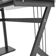 Schreibtisch Ums Eck Homcom Eck Computertisch Eckschreibtisch Bürotisch Pc Tisch
