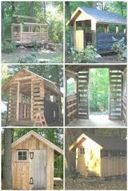 How To Make A Shed Out Of Wood Pallets by Wood Outdoor Playhouse Foter