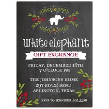 white elephant party invitations u2013 unitedarmy info