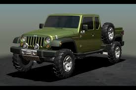 jeep concept truck jeep confirms wrangler based pickup in the works at naias