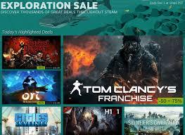 best deals on video games for black friday black friday 2015 steam sale arrives