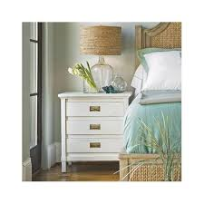 3 Drawer Nightstands Living By Stanley Furniture Havens Harbor 3 Drawer White Nightstand