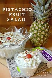 pistachio fruit salad easy to make u0026 clean up your sassy self
