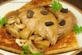 recette de cuisine filet de faisan salmis de faisan à l ancienne aux truffes péché de gourmandise