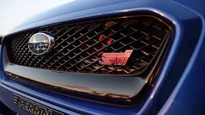 subaru rsti badge 2017 modified subaru wrx sti review youtube