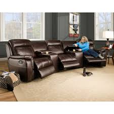 melrose home theater living room laf armless and raf power