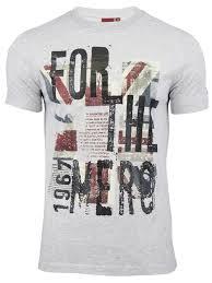 British Flag Shirts Union Jack Tee Shirts For Mens Kamos T Shirt