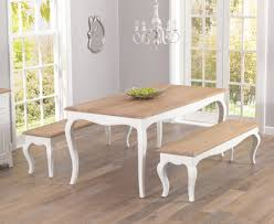 shabby chic dining table bench living room ideas