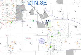 Keystone Map Historical Well Map U2013 Keystone Test Facility
