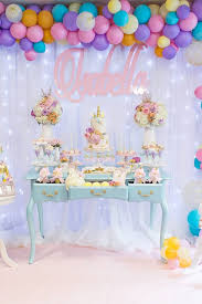 unicorn party supplies magical pastel unicorn party 1st birthday pretty my party