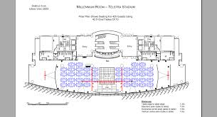 Anz Stadium Floor Plan Event Services Cadplanners Floorplans 3d Table Plans Guest