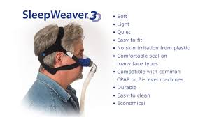 sleepweaver 3d cpap bipap mask features youtube