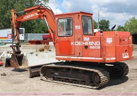 1988 koehring 6608 mini excavator item g5160 sold june