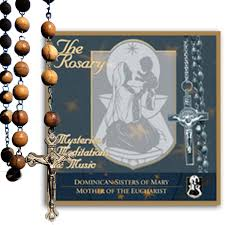 rosary cd the rosary mysteries meditations of