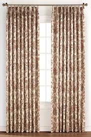 monique coral insulated pinch pleat drapery curtain pair curtain