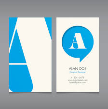 logo vector free logo business card template ai vector