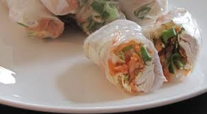 paper wraps rice paper chicken wraps easy to make low calorie and delicious
