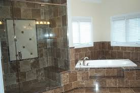 stone bathroom ideas white stain wall varnished wood floor tile