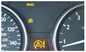 warning lights on bmw 1 series dashboard abs handbrake and traction lights on any help