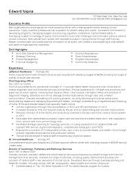 sample coo resume esh energy construction coo resume service from