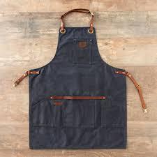 tablier de cuisine homme tablier bleu homme imperméable anti tâches ères cuir