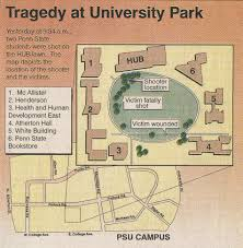 Penn State University Park Map Twenty Years After Fatal Hub Shooting How Police Have Changed