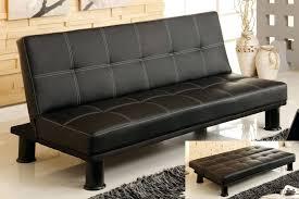 logan faux leather futon sofa bed centerfordemocracy org