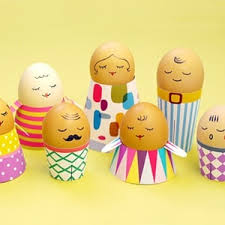 Easter Decorations For Your Car by Egg People On The Road Mr Printables