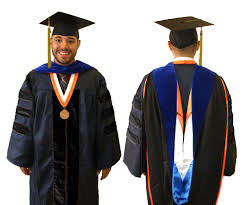 doctoral graduation gown doctoral students