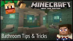 minecraft bathroom designs minecraft xbox bathroom design tips u0026 tricks youtube