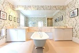 bathroom wallpaper border ideas wallpaper ideas for bathroom fabulous how to use them in your home