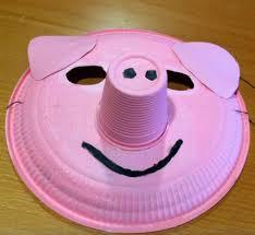como hacer mascaras en forma de rosa máscaras de carnaval con platos de plástico ecoembes amarillo
