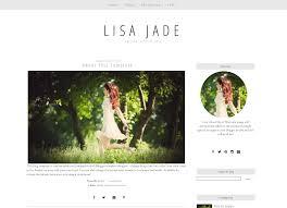 modern grey blog template blogger layout jade