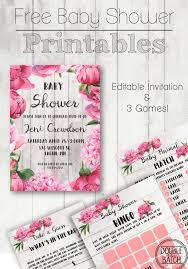 free baby shower printables uplifting mayhem