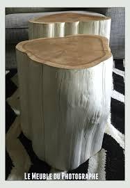 table bout de canap des rondins en guise de chevets ou bouts de canapé barbatruc et récup