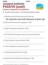 past present and future tense worksheets for 6th grade
