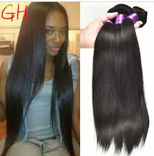 picture of hair sew ins 3 bundles 7a indian straight hair weave virgin remy sew in
