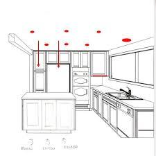 kitchen lighting recessed layout cylindrical wood coastal crystal