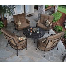 Retro Metal Patio Furniture - furniture lowes bistro set for creating an intimate seating area