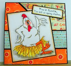 impressions birdie sku u1834 bird brains chicken
