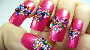 nail designs 2017 diamonds holiday nail art styling le nail art