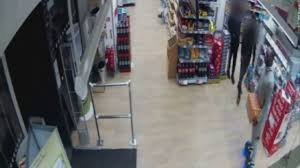 lexus hoverboard footage man rides hoverboard into shop and steals a crate of lucozade