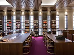 oxford u0027s new bodleian library has had a radical modernist makeover