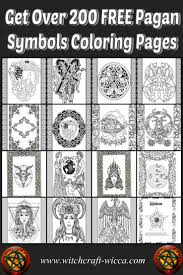 pagan symbols free pagan coloring pages wicca book of shadows pdf