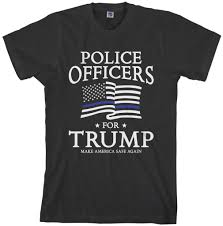 threadrock tees for adults and kids police officers for trump
